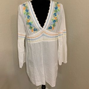 Tommy Bahama Embroider shirt/dress